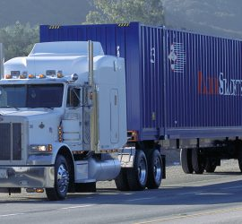 Domestic intermodal container drayage